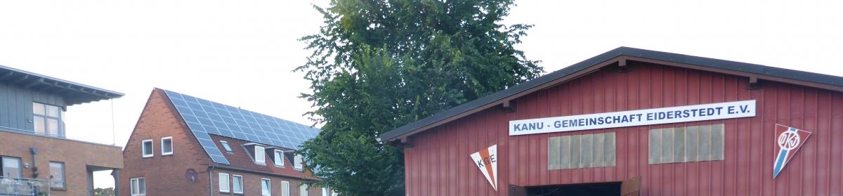 Webseite der Kanu-Gemeinschaft-Eiderstedt e.V. in Tönning